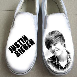 Justin Bieber Painted Shoes Bieber Hand Painted Shoes