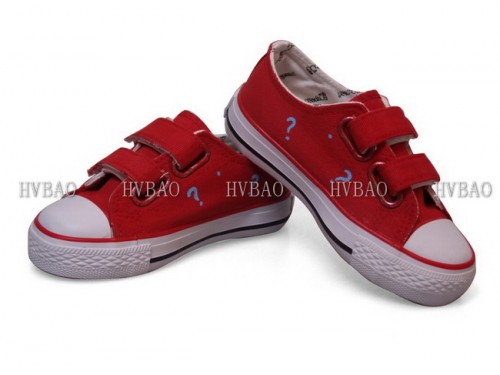Anime Canvas Doraemon Red Hand Painted Canvas Shoes-3