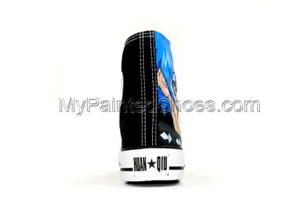 Fairy Tail Canvas Shoes Jellal Fernandes Hand Painted Canvas Sho-3