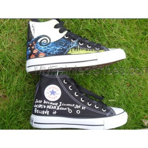 Nightmare before Christmas shoes Hand-painted sneaker-2