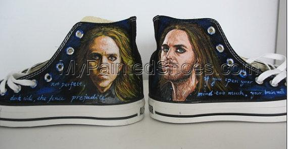 Tim Minchin shoes Hand Painted Shoes sneaker-1