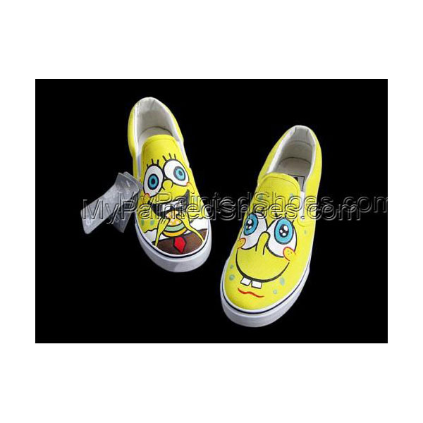 spongebob designed Shoes Slip-on shoes