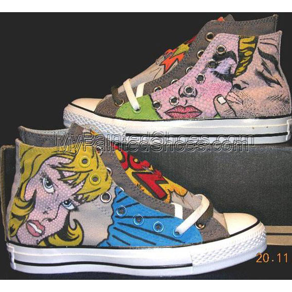 Betty Shoes Hand Painted Cavas Shoes Women Painted Shoes