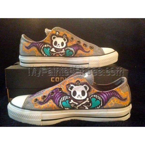 Fafi Girls Women Shoes Hand Painted Cavas Shoes