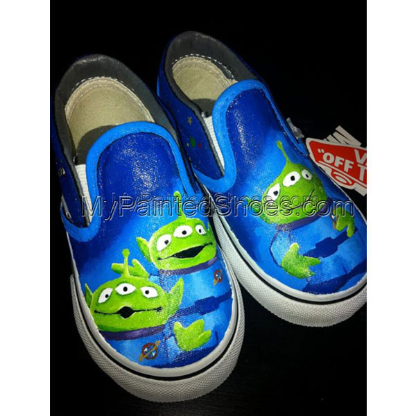 Kid's Painted Cavas Shoes Hand Painted Low-top Shoes Canvas Shoe