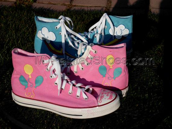 Any size KNEE HIGH Sneakers Any Character My Little Pony Cutie M-4