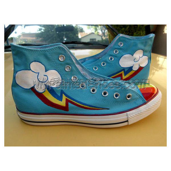 Any size KNEE HIGH Sneakers Any Character My Little Pony Cutie M