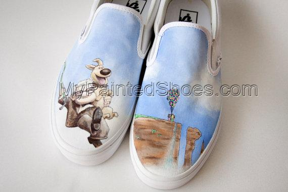 Custom Painted Shoes Reserved for Haley-2