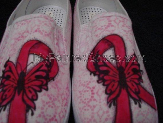 Breast Cancer Awareness Shoes-3
