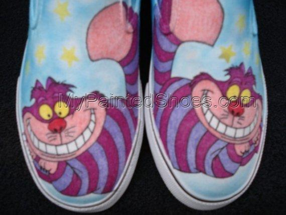 Cheshire Cat Custom Designed Shoes-1