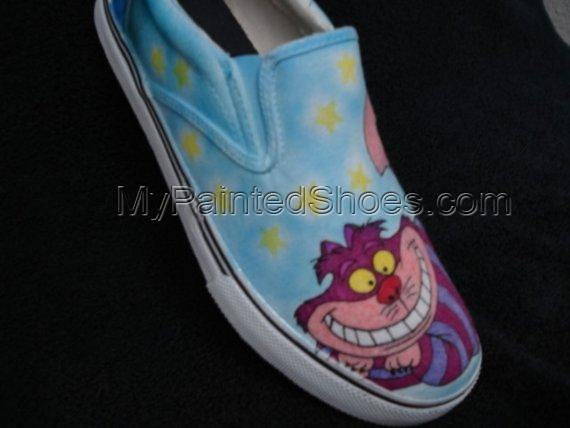 Cheshire Cat Custom Designed Shoes-4