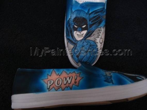 Batman Custom Designed Shoes-1
