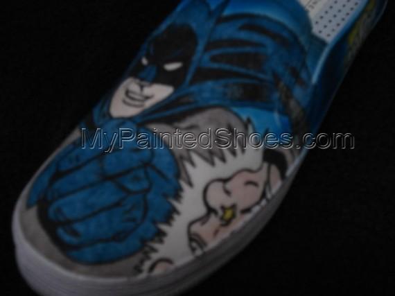 Batman Custom Designed Shoes-3