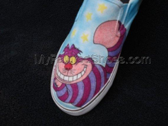 Cheshire Cat Custom Designed Shoes-2