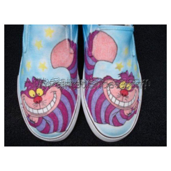 Cheshire Cat Custom Designed Shoes