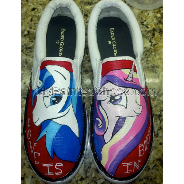 My Little Pony Custom Canvas Shoes