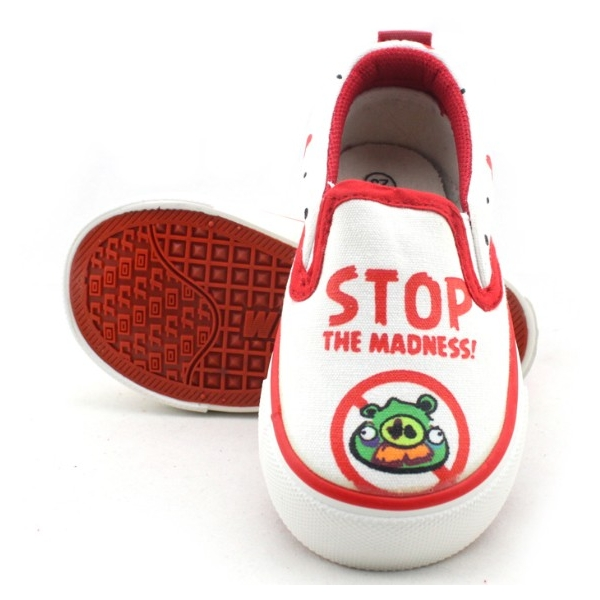 Angry Birds Kids Canvas shoes Hand Painted Angry Birds Kids Canv-1