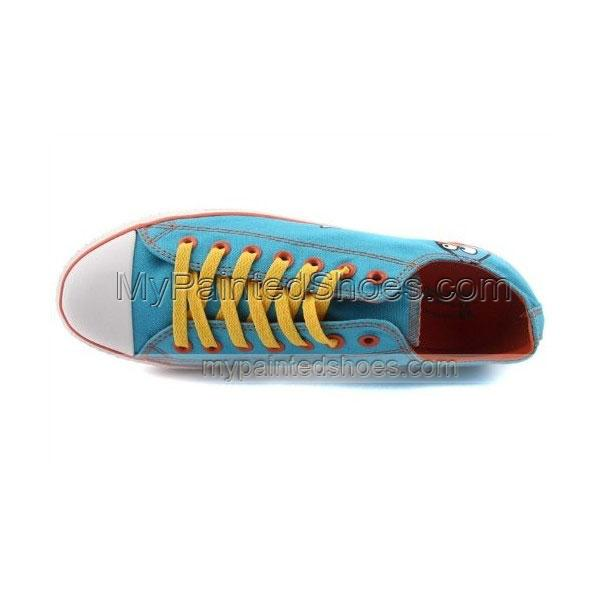 Angry Birds Canvas Shoes Blue Birds Sneakers-2