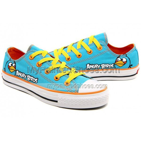 Angry Birds Canvas Shoes Blue Birds Sneakers