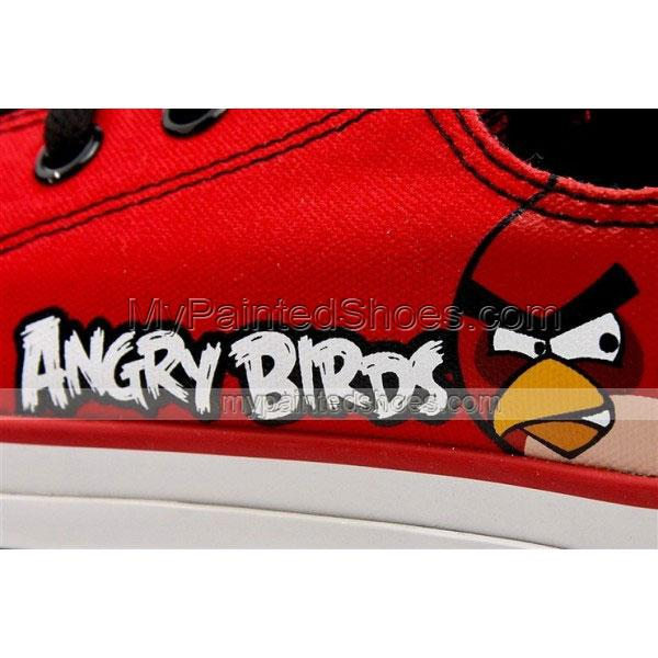 Angry Birds Canvas Shoes Red Angry Birds Sneakers Red Birds Shoe-3
