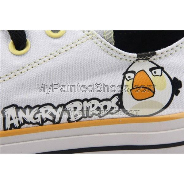 Angry Birds Sneakers Canvas Shoes Angry Birds White Birds-3
