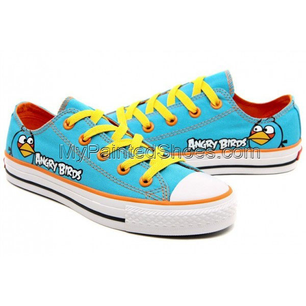 Angry Birds Canvas Shoes Blue Birds Angry Birds Sneakers