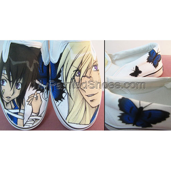 Loveless Canvas Painted Shoes Loveless Anime Painted Shoes