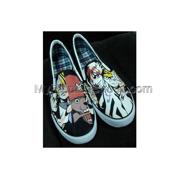 one piece Slip-on Painted Sneakers for Men and Wome