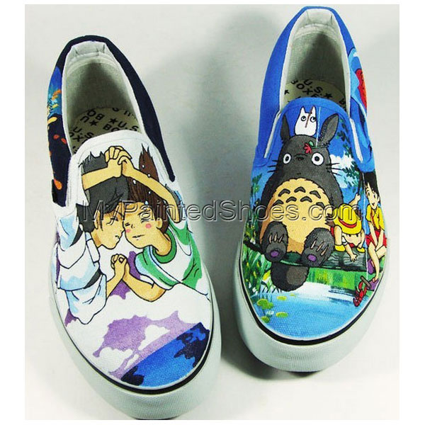 My Neighbor Totoro Slip-on Sneakers for Men and Women