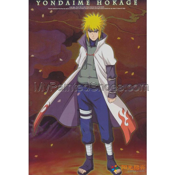 Naruto Yondaime 4th Hokage Naruto Cosplay Costume 4th Hokage Cos