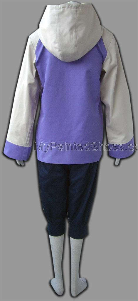 Naruto Hinata Hyuuga Cosplay Costume 2th Hinata Hyuuga Cosplay C-3