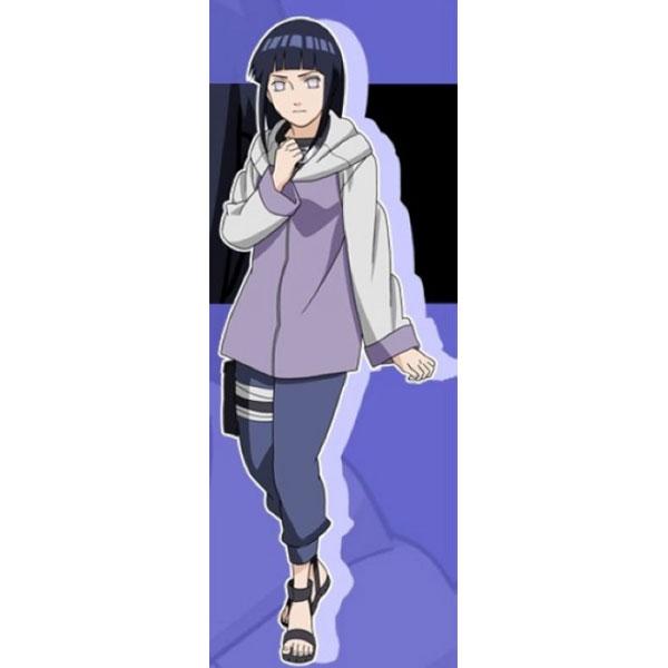 Naruto Hinata Hyuuga Cosplay Costume 2th Hinata Hyuuga Cosplay C