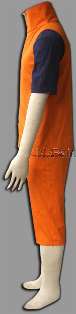 Naruto Uzumaki Naruto Cosplay Costume 3th Uzumaki Naruto Cosplay-2