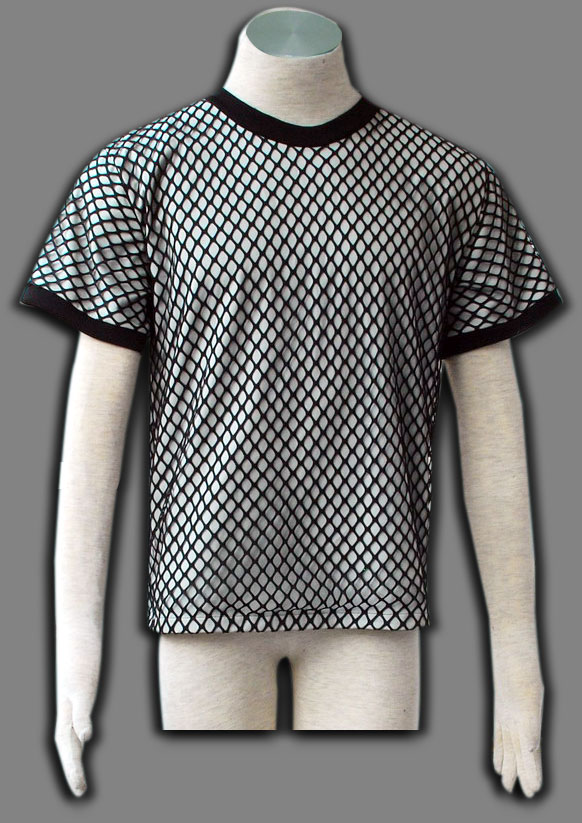 Naruto Fishnet Men's Cosplay Costume 1th