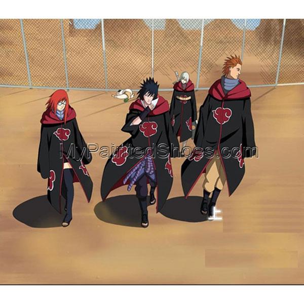 Akatsuki Cosplay (Cloak,Stock) from Naruto Shippuuden Naruto Cos