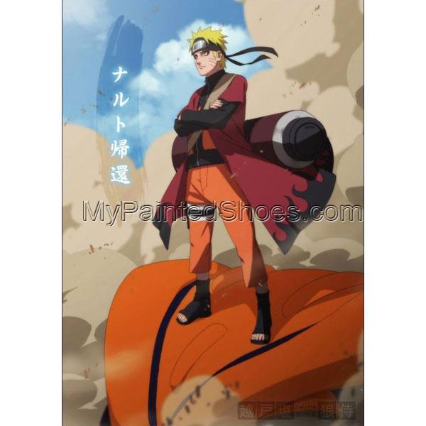 Naruto Uzumaki Hokage (Cloak) 6th from Naruto Shippuuden Naruto