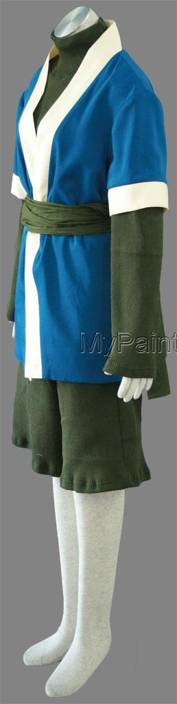 Haku Shirt and Pants (1rd) from Naruto Cosplay Costumes-2