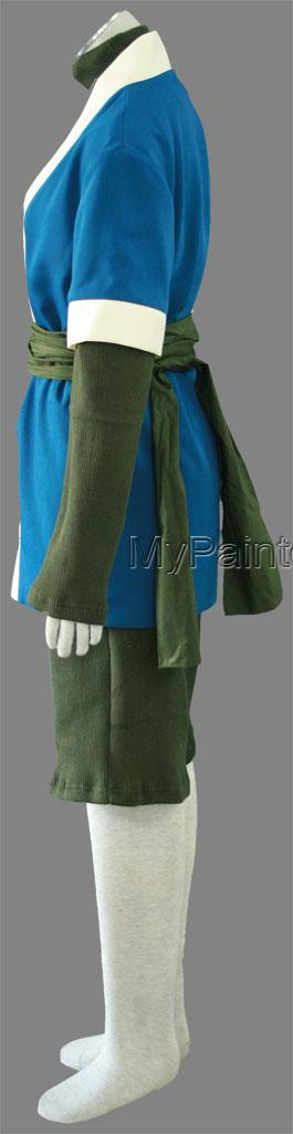 Haku Shirt and Pants (1rd) from Naruto Cosplay Costumes-3