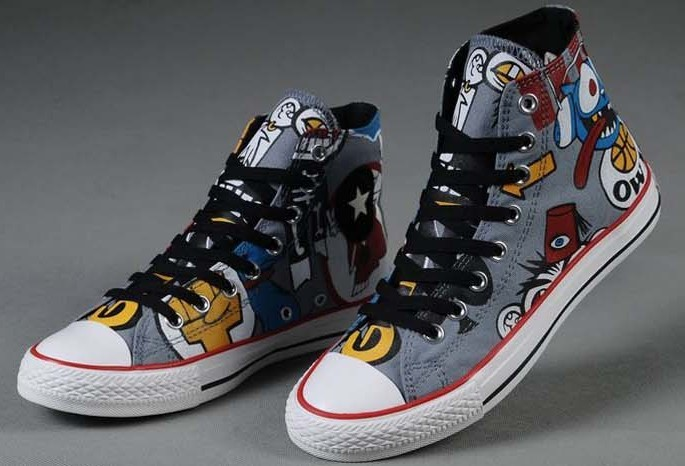 Hand Painted Shoes/Sneaker for men and women-1