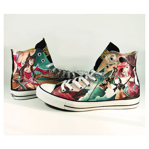 Custom Anime Sneaker Slip-on Painted Canvas Shoes