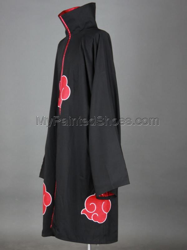 Akatsuki Cosplay Cloak 2rd from Naruto Shippuuden Naruto Cosplay-2