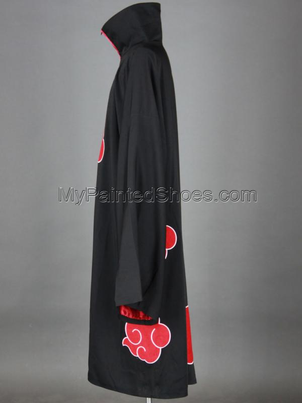 Akatsuki Cosplay Cloak 2rd from Naruto Shippuuden Naruto Cosplay-3