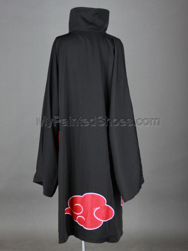 Akatsuki Cosplay Cloak 2rd from Naruto Shippuuden Naruto Cosplay-4