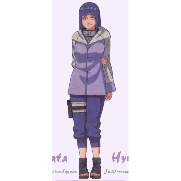 Hinata Cosplay (3rd) from Naruto Shippuuden Naruto Cosplay Costu