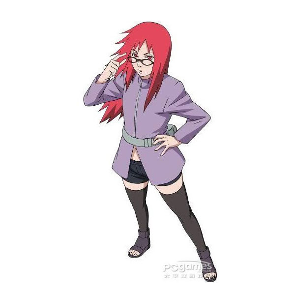 Karin Coat 1rd from Naruto Cosplay Costumes