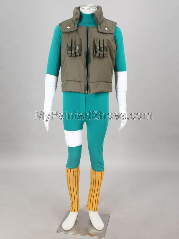 Lee Cosplay Costume from from Naruto Cosplay Costumes-2