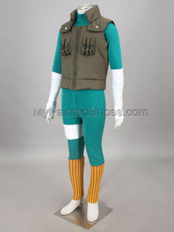 Lee Cosplay Costume from from Naruto Cosplay Costumes-3