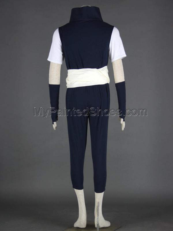 Kabuto Cosplay Costume from Naruto Yakushi Kabuto Cosplay Costum-4