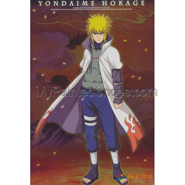 Naruto Yondaime 2th Hokage Naruto Cosplay Costume 2th Hokage Cos