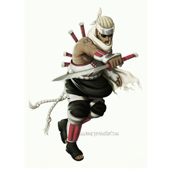 Naruto KillerB Cosplay Costume Naruto Killer Bee Naruto Cosplay